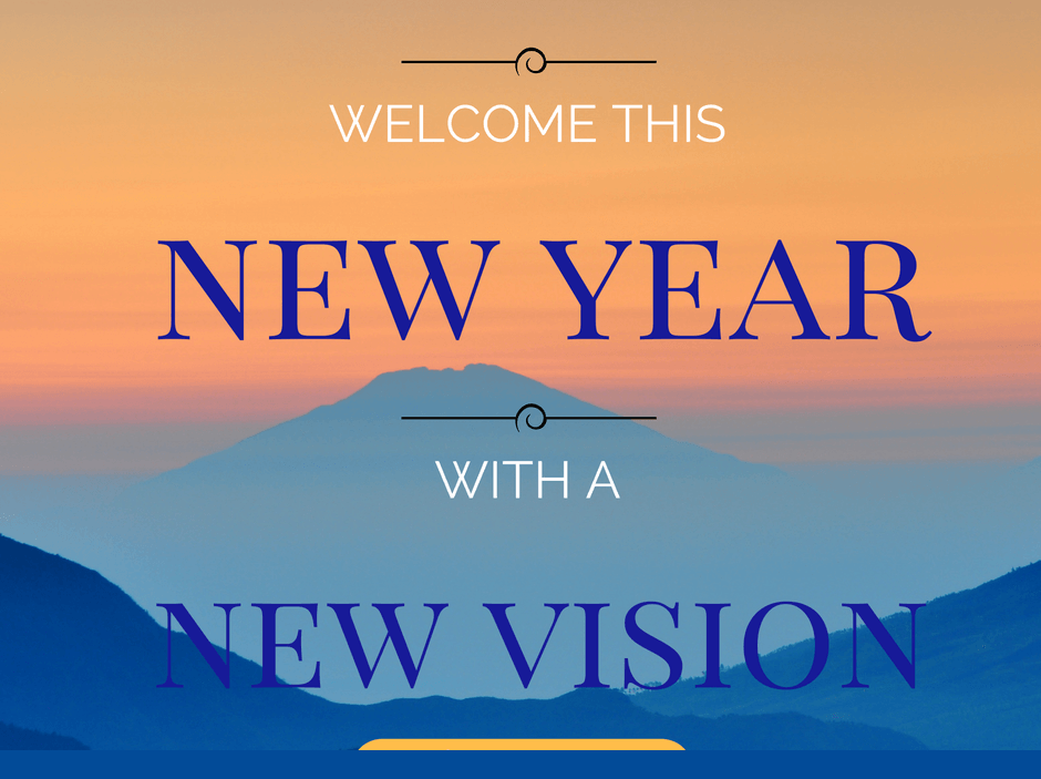 New Year with New Vision