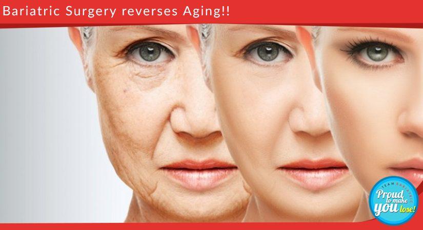Bariatric Surgery reverses Aging!!