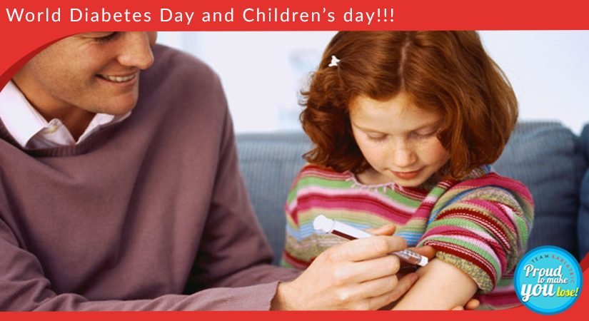 World Diabetes Day and Children's day