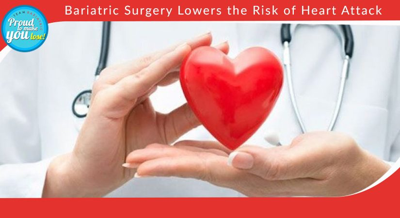Bariatric Surgery Lowers the Risk of Heart Attack