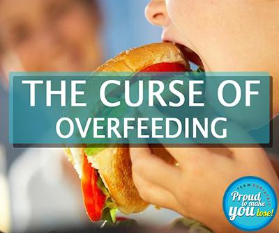 THE curse of overfeeding thumb