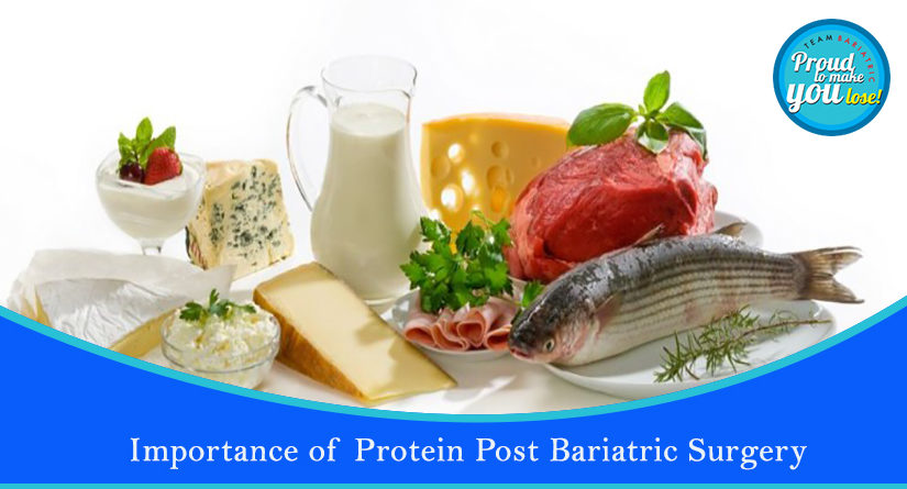 Importance of Protein post Bariatric Surgery