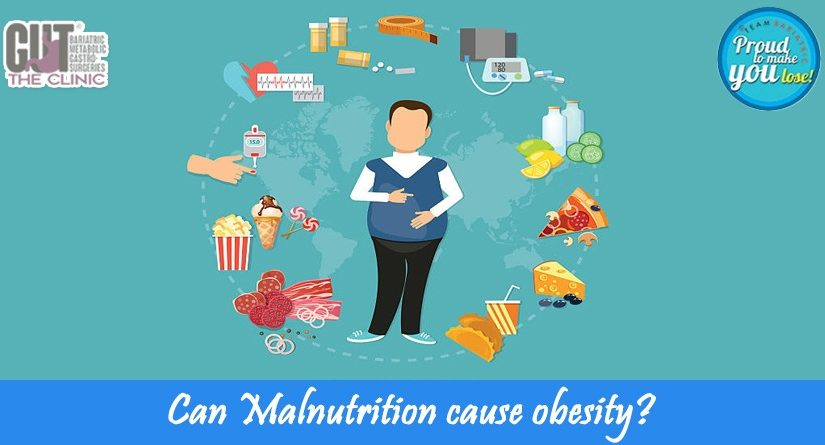 Can Malnutrition cause obesity?